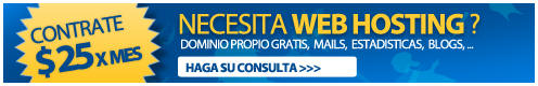 CONTRATE SU WEB HOSTING